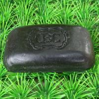 China Black Bamboo Charcoal Soap with 24K Gold foil on sale
