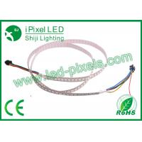 Wholesale 144LEDs / m DC5V 1m per roll Programmable LED strip lamp Digital , white black PCB from china suppliers