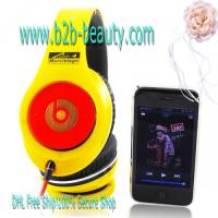 Quality Monster Beats By Dr.Dre Lamborghini Headphones-yellow for sale
