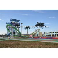Wholesale Outdoor Kids Water Play Aqua Park Equipment Amusement Ride / Water Slides For Pools from china suppliers