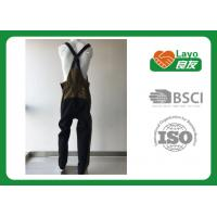 Quality ISO Soft Fishing Quick Dry Pants , Suspender Pant Durable Flexible Design for sale