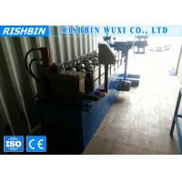Wholesale 10 - 15 m / min Track Blue Steel Stud and Track Roll Forming Machine with PLC from china suppliers
