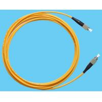 Wholesale Simplex Jumper APC Fiber Optic Patch Cables , FC To FC Patch Cord Low  Insertion from china suppliers