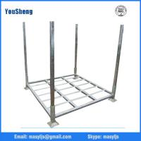 Buy cheap Warehouse Storage Use Stacking Steel Powder Coated 4 Round Posts Tire Stacking Rack from wholesalers
