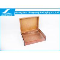 Wholesale Luxury Design Hinged Gift Box Custom Packaging With Lacquer Wooden Material from china suppliers