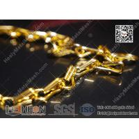Wholesale Golden Color Aluminum Fly Mesh Chain Curtain With High Quality from china suppliers