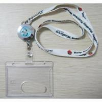 China Badge holders, PVC badge holder, Badge holder with lanyard, ID badge holder with lanyard on sale