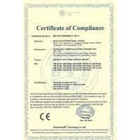 Dongguan Comer Electronic Technology Co., Ltd. Certifications