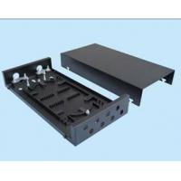 Wholesale Mini Type 8 Port Patch Panel Wall Mount Fiber Termination Box For Jointing Fiber Cable from china suppliers