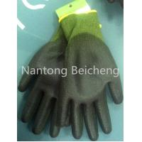 Wholesale PU Green Cut Resistant Glove 13Gauge with Jonnyma Seamless Lined Dip from china suppliers
