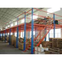 Wholesale 500kg Professional Steel Shelf Supported Mezzanine For Warehouse , Office from china suppliers