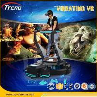 Wholesale 9D VR Vibrating Simulator Platform Zhuoyuan Virtual Reality Entertainment Machine from china suppliers