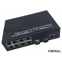 Wholesale Ring Type Gigabit Multiport Fiber Media Converter With 8 RJ45 Ports And 2 SFP Slots from china suppliers