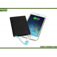 Wholesale Mobile Phone Ultra Slim Power Bank  USB Customized Logo Ultra Slim Credit Card 2500mAh from china suppliers