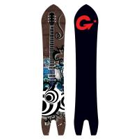 Quality Guitar Swallowtail Snowboard, Adult Snowboards for sale