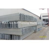 China Hydraulic Automatic Highway Guardrail Roll Forming Machinery with CE Certificate on sale