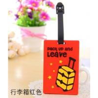 Quality Company logo luggage tag with insert card for sale