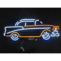 Wholesale Business Decorative Neon Sculptures Automotive Neon Signs With On / Off Switch from china suppliers