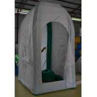Wholesale PVC Inflatable Outdoor Convenient Easy to Open with a Toilet Tent for Camping from china suppliers