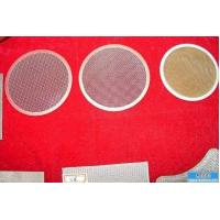 China multilayer Stainless Steel Disc Filter Screen mesh/filter disc mesh on sale