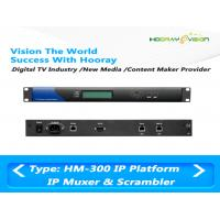 Wholesale DVB IPTV 512 MPTS SPTS IP Input Digital TV Multiplexer Support 4 Simulcrypt CAS System from china suppliers