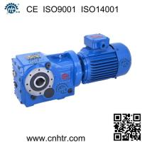 Wholesale K series spirial bevel gear reducer 90 degree right angle gearbox Gearmotors from china suppliers