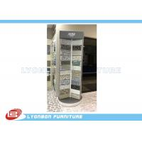 Wholesale Silver Rotate Round Wooden Display Stands For Mosaic Selling Painting Display from china suppliers