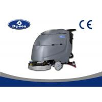 Wholesale Black Color Hard Surface Floor Scrubber Washing Machine Walk Behind Heavy Duty from china suppliers