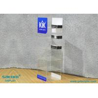Quality Acrylic E-liquid Display Stand For Storage / Display , Free Logo Design for sale
