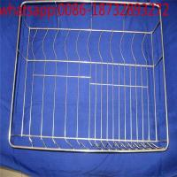 Wholesale stainless steel wire mesh fryer baskets french fry container square deep fryers basket/customized wire mesh storage bas from china suppliers