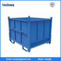 Wholesale Welded foldable stacking steel warehouse storage cage from china suppliers