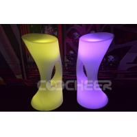 Wholesale PE Plastic Material Rechargeable Lighted Bar Stools Durable Modern from china suppliers