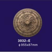 Wholesale Antique Bronze Polyurethane Ceiling Medallion , Decorative Plaster Medallion Molds from china suppliers