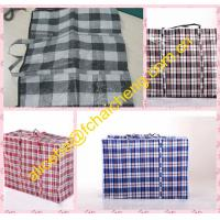 Wholesale PP Woven fabric material plaid tarpaulin bags/shopper bag material from china suppliers