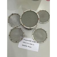 Wholesale Sieves Perforated Plate Woven Decorative Mesh Panel Stainless Steel 304 , 316 from china suppliers