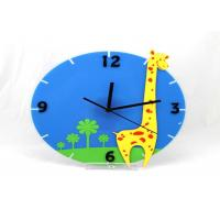 Wholesale Lovely Chilrens Gift Home Decor Clocks Wall Decorative , Giraffe Shape from china suppliers