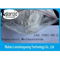 Wholesale 17a-Methyl-Drostanolone Superdrol Powder CAS 3381-88-2 Bodybuilding Muscle Supplements from china suppliers