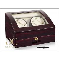 Wholesale Dual Watch Winder Box For 4 Automatic Watches 6 Watches Storage Boxes from china suppliers
