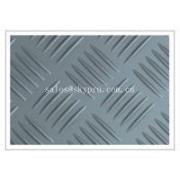 Wholesale Durable Anti-slip checker pattern 3mm - 6mm thick recycled rubber mats flooring from china suppliers