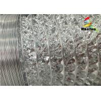 Quality Single-sided or double-sided aluminum foil/ polyester flexible ducting for sale