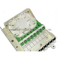 Fiber Optic Termination Box With Splitter 1X8 PLC And 8 Coupler SC/APC Auto Shutter Type