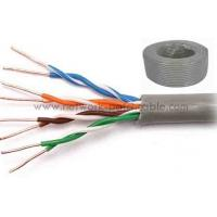 Wholesale Customized Category 5e UTP Cable Cat5e UTP Cable PVC 100BASE-TX from china suppliers