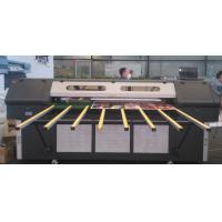 Wholesale Double LED Lamps Roll to Roll UV Printer , Flatbed Large Format Color Printers 1440DPI from china suppliers
