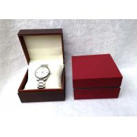 Wholesale Plastic Individual Watch Boxes Stand Up For Shopping Mall , Eco Friendly from china suppliers