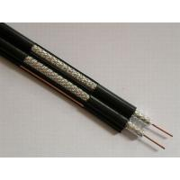 Quality Dual RG6 Coaxial Cable for CATV and MATV , PVC Jacket 75 ohm Video Cable for sale
