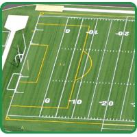 Wholesale Two tones Artificial Sports Turf , High Density , eco friendly from china suppliers