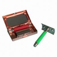 Wholesale Safety Razor with Plastic Handle, Lubricant Strip from china suppliers