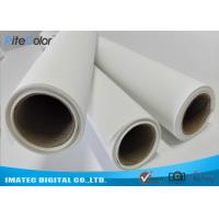 Wholesale Waterproof 280gsm Matte Polyester Canvas Rolls Single Side For Giclee Inkjet Printing from china suppliers
