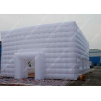 Wholesale White outdoor  large inflatable cube event tent For parties , clubs from china suppliers