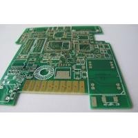 Wholesale White Silkscreen 8 Layers Multilayer NiAu PCB With Goldfinger For Storage from china suppliers